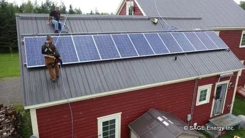gridtied-solar-installation