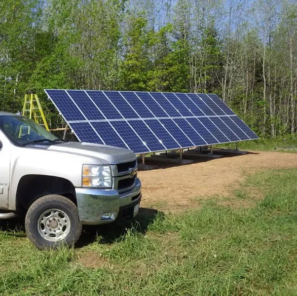 Grid-Tied Solar to Replace a Wind Turbine