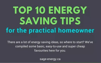 Our Top 10 Energy Saving Tips