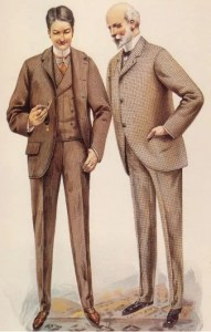 Victorian men 1890