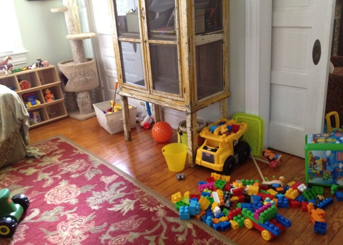 Playroom Makeover: Part 1
