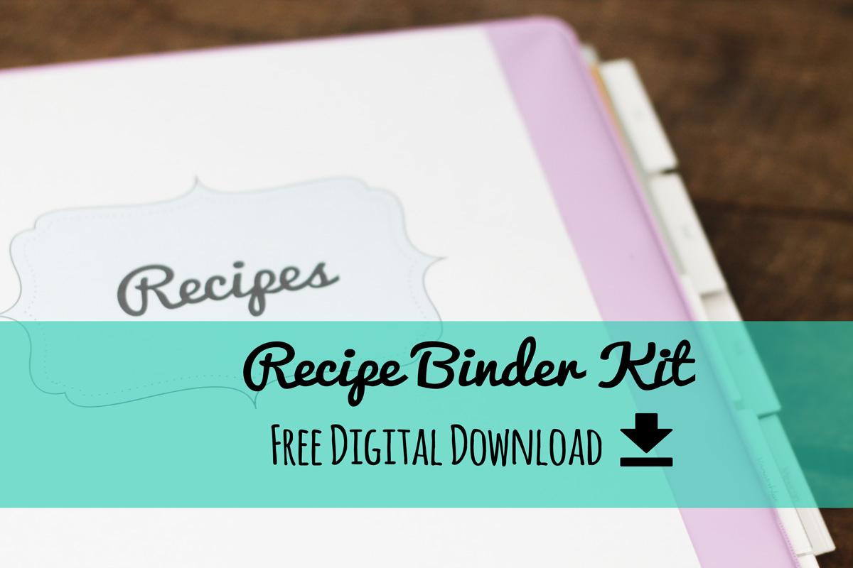 Erika Brent Sage Amp Zoo Recipe Binder Kit Free Printable