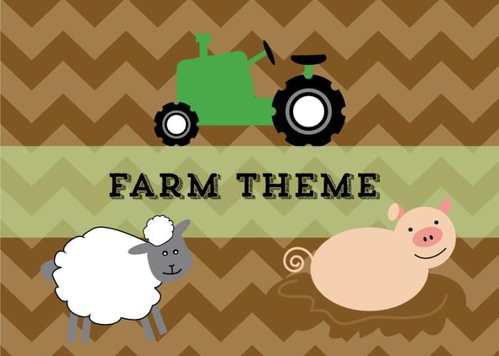 Farm Theme Week