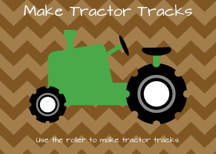 Tractor Tracks Art