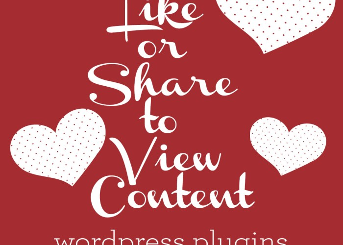 Having Readers Like or Share to View Content