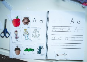 Letter Sound Notebook Letter A
