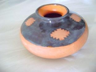 Aztec Bubble Vase