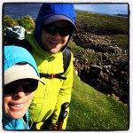 A rare moment of sun on day 1 of the Skye Trail