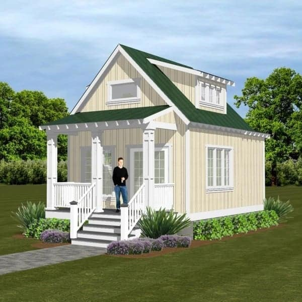 what is a granny flat yellow house
