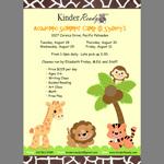 Sage Design Group - KinderReady Summer Camp Flyer Thumb
