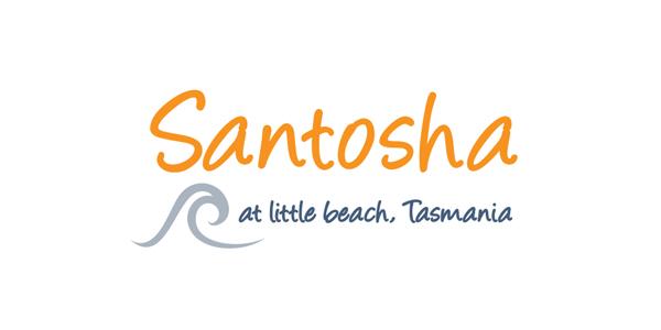 Santosha Logo Design