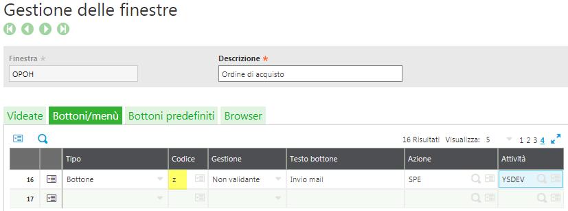 Sage X3 v9 OPOH Window Button