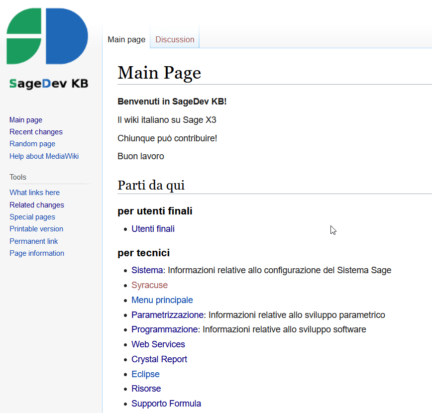 wiki di SageDev.it