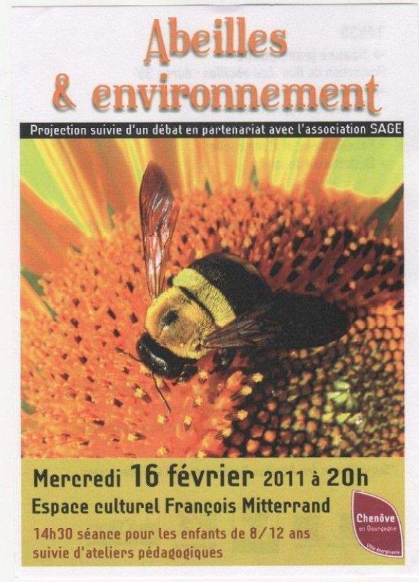 """débat """"Abeilles & environnement"""""""