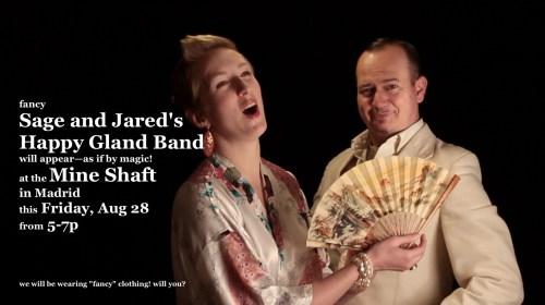 madrid aug 2015 - Sage Harrington - Happy Gland Band