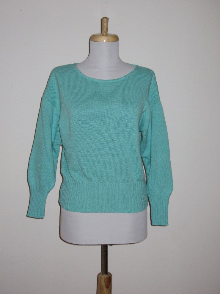 100% Cotton Cropped Crew 3/4 Sleeve  Call for color availability