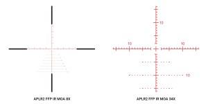 Athlon Argos BTR 8-34x56 Gen2 APLR2 FFP MOA reticle