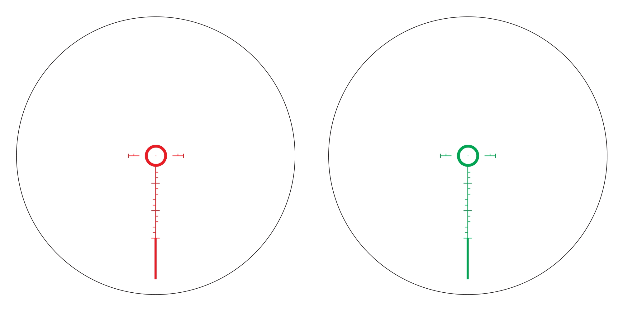 Athlon rifle scopes, red dot sights, and reticles