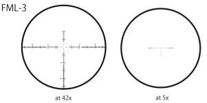 March 5-42x56 FFP FML-3 reticle diagram