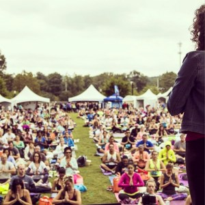 Thanks to the staff of Wanderlust for capturing this amazing view at Wanderlust 108 Atlanta 2014!