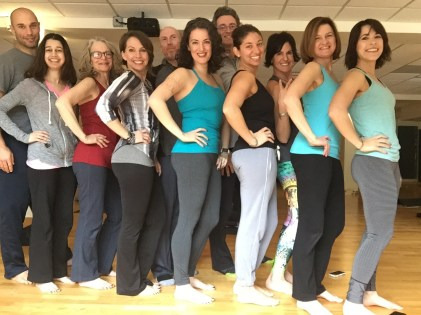 Our teachers' intensive was comprised of hilarious, warm, sassy colleagues