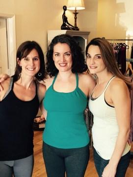 Emily, me, and Aimee