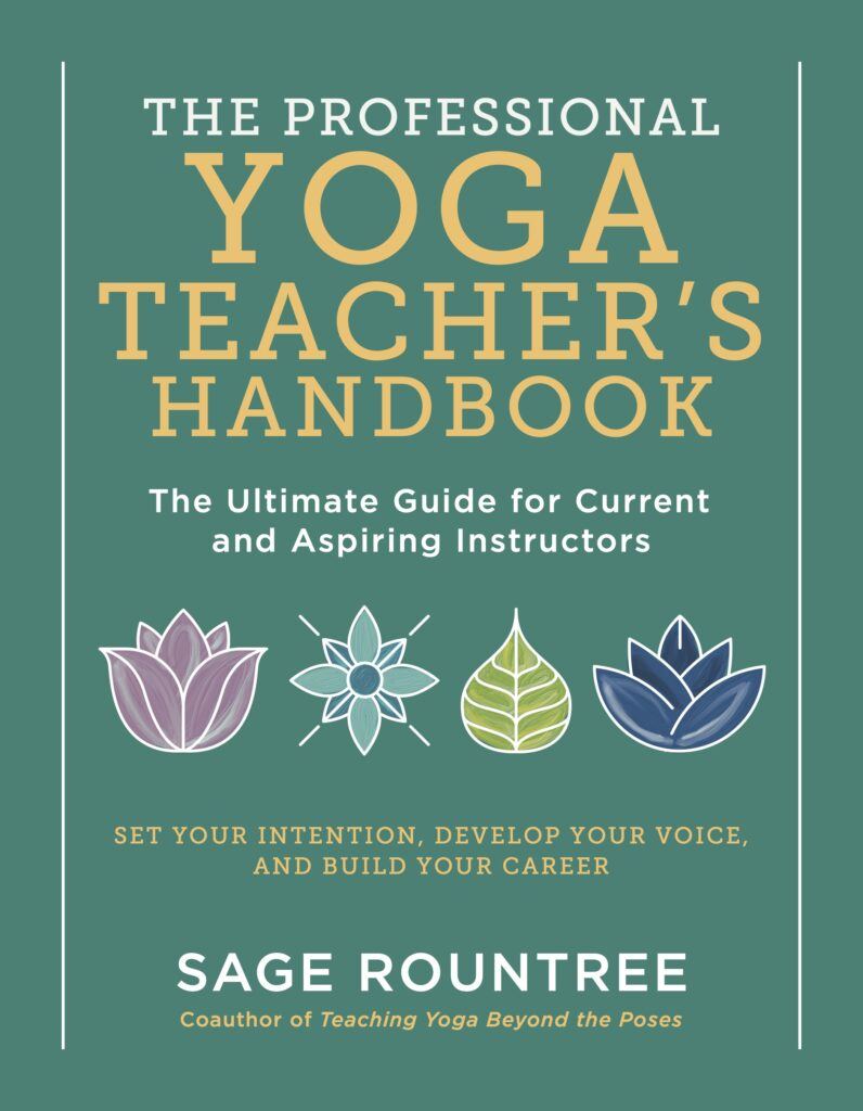 the professional yoga teachers handbook