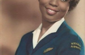 #ThrowBackSaturday: A Nigeria Airways flight attendant in 1962