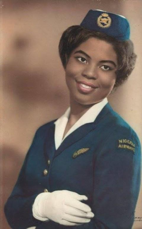 #ThrowBackSaturday: A Nigeria Airways flight attendant in 1962