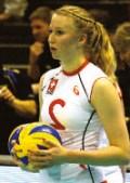 Laura Künzler, Volleyballerin ist Stammspielerin in der Nationalliga A und Mitglied der Schweizer Nationalmannschaft.