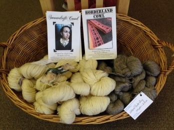 Sage Yarn & Patterns Display