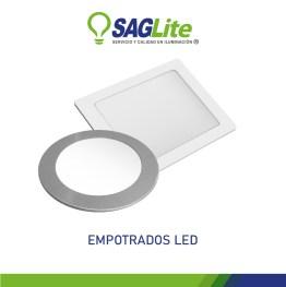 EMPOTRADOS LED