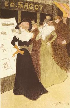 Georges Bottini - L'adresse de Sagot - 1898 - Lithographie