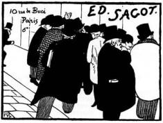 Galerie Sagot - Le Garrec, 10 rue de Buci - Paris