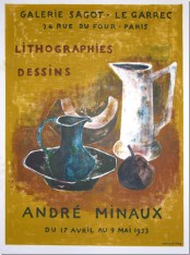 André Minaux - Avril 1953