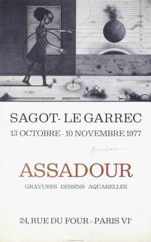 Exposition Assadour - Octobre 1977