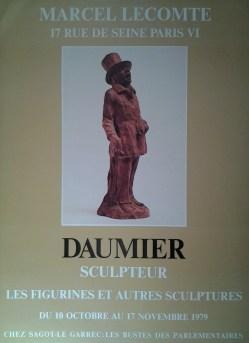 Exposition Honoré Daumier - Octobre 1979