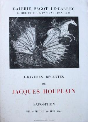 Exposition Jacques Houplain - Mai 1961