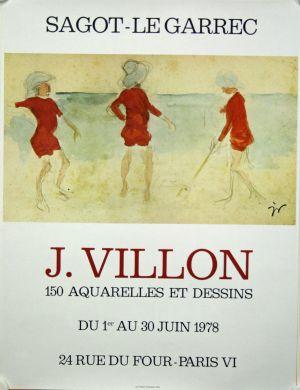 Exposition Jacques Villon - Juin 1978