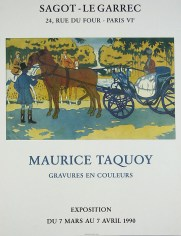Exposition Maurice Taquoy - Mars 1990