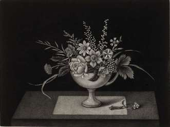 Kiyoshi Hasegawa - Coupe de fleurs des champs