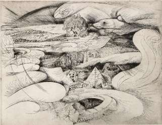 André Masson - Rêve d'un futur désert