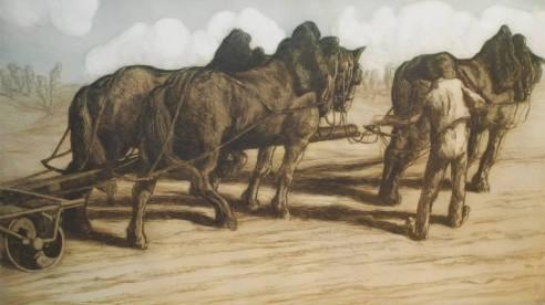 Alfredo Müller - Après les semailles - 1902