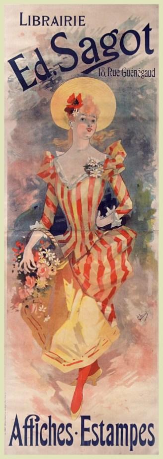Jules Chéret - Librairie Ed. Sagot - 1891