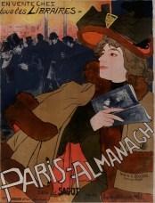 Georges Feure - Paris - almanach - édité par Sagot