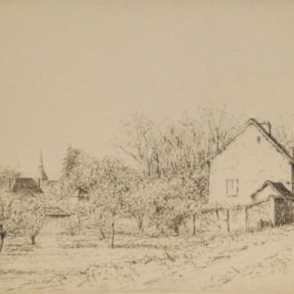 Jacques Beurdeley - Verger au printemps