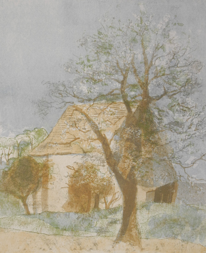 Pierre Eugène Clairin - Cerisiers en fleurs