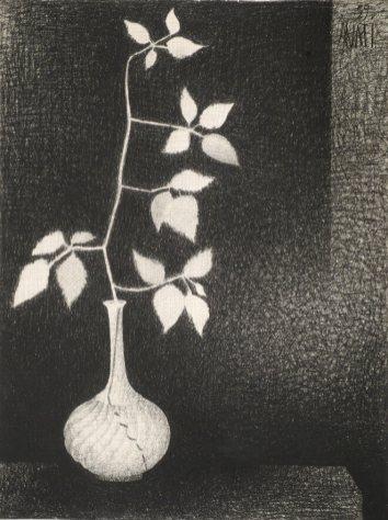Mario Avati - Branche de murier