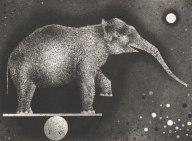 Mario Avati - Éléphant équilibriste