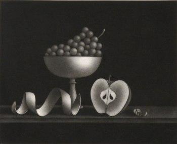Mario Avati - Nature morte à la feuille timide